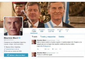 Presidente argentino ,no te vayas lio