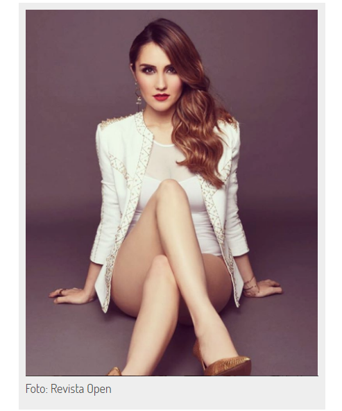 Dulce maria Revista Open 01