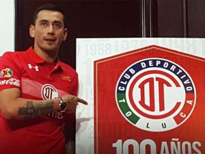 Rubens Sambueza Debuta Con Toluca
