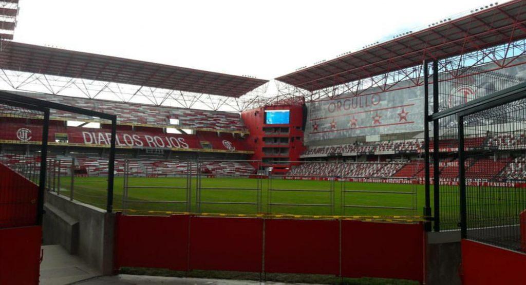 Estadio Nemesio Diez remodelado