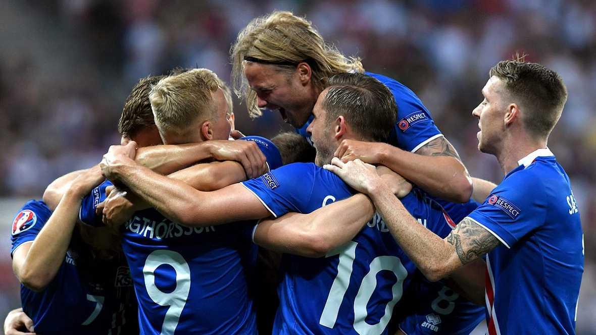 Eurocopa 2016: Islandia da la sorpresa tras eliminar a Inglaterra