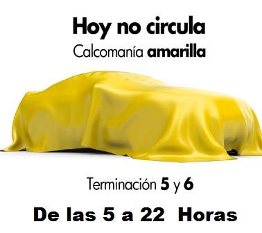 Lunes No Circulan Autos Con Holograma Amarillo.