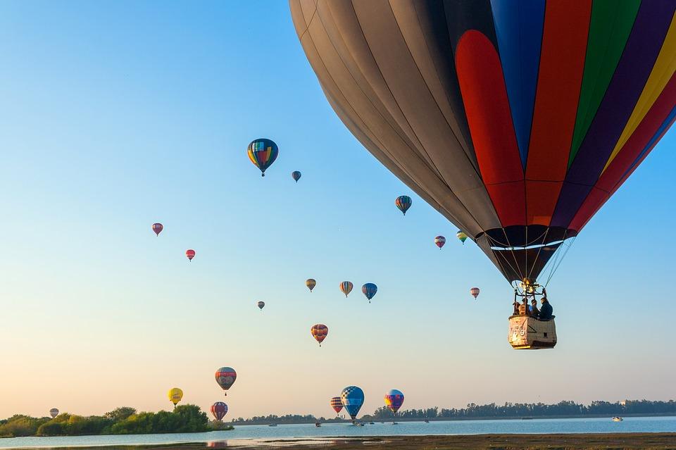 Los 5 mejores lugares para viajar en globo aerostático en México