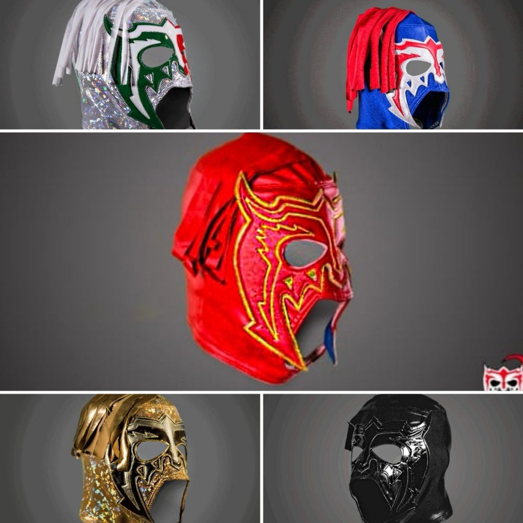 máscara del Escorpión Dorado