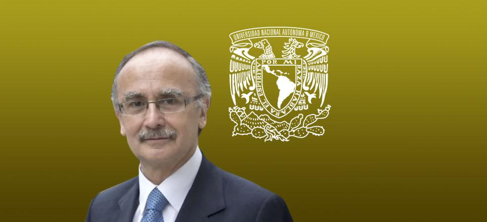 José Halabe Cherem, académico de la Facultad de Medicina (FM) de la UNAM.